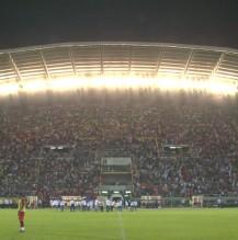 WM Qualifikationsspiel in Skopje