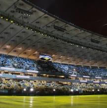 Stadioneinweihung Kiew