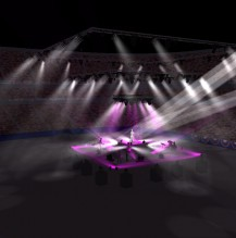 Visualization of a tour-centerstage