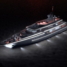Illumination of a yacht