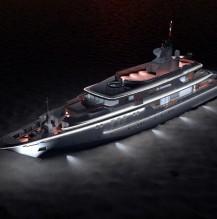 Beleuchtung einer Yacht